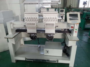 Industrial Monogramming Machine Two Heads , Cloth Embroidery Machine CT1202